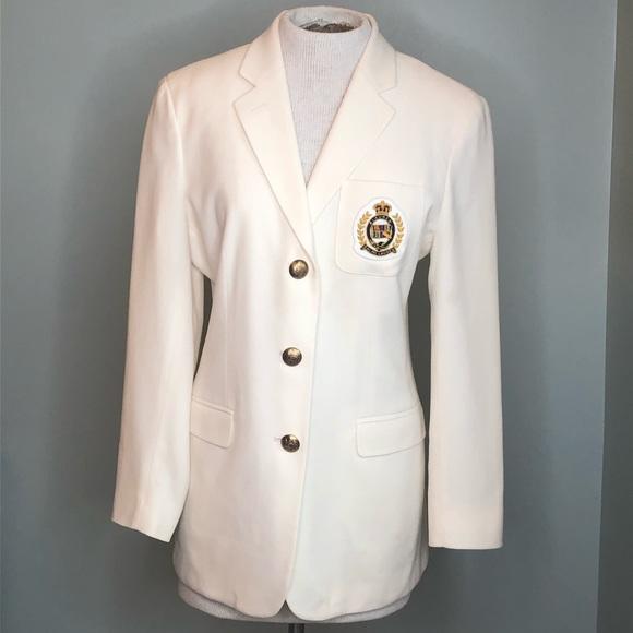 Lauren Ralph Lauren Jackets & Blazers - Ralph Lauren Classic Off White Blazer Size 8